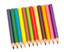 Free Colored Pencils Royalty Free Stock Photos - 19219118