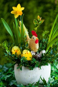 Free Easter Compositions Royalty Free Stock Photo - 19219325