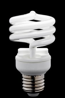 Free Energy Saving Bulb Stock Photography - 19219442