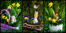 Free Easter Compositions Royalty Free Stock Photo - 19219475