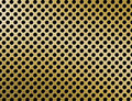 Free Golden Metal Grille Surface Royalty Free Stock Images - 19221379