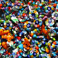 Free Colorful Costume Jewellery Background Royalty Free Stock Photo - 19226095