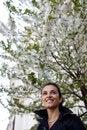 Free Woman Around White Blossoms Stock Photos - 19226503