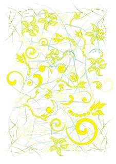 Free Stock Vector Illustration: Flowers Stock Photo - 19221310