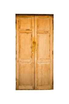 Grunge Door Royalty Free Stock Image