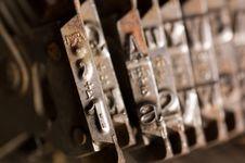 Free Old Text Typing Typewriter Letter Typebar Stock Photo - 19221530