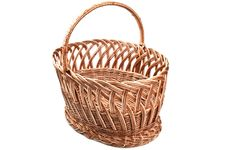 Free Wicker Basket Stock Photography - 19221752