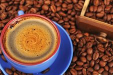 Free Cup Of  Coffee Royalty Free Stock Photography - 19221947