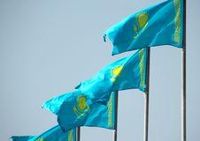 Free Flags Of Kazakhstan Stock Photo - 19223380