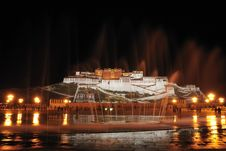 Free Potala Palace Night Stock Images - 19223384