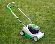 Free Lawnmower On The Grass Royalty Free Stock Images - 19223429
