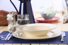 Free Place Setting Stock Photography - 19223702