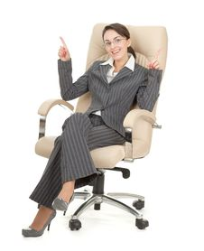 Free Portrait Of A Business Woman Stock Photos - 19223943