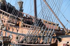 Free Galleon Royalty Free Stock Photography - 19224207