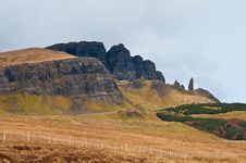 Free Old Man Of Storr Royalty Free Stock Image - 19224446