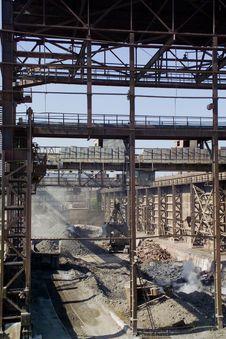 Free Metallurgical Plant Royalty Free Stock Photo - 19225065
