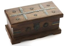 Wooden Chest Royalty Free Stock Images