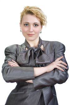 Free Girl In A Business Suit Stock Photo - 19226160