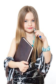 Free Portrait Of Little Girl Royalty Free Stock Image - 19226296