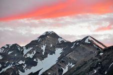Free Mt. Nebo Peak At Sunset. Stock Photography - 19227412