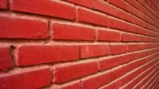 Free Red Wall Royalty Free Stock Photo - 19228145