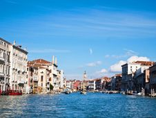 Free Venice  S Grand Canal , Venice Italy Stock Photos - 19228323