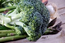 Free Close Up Of Broccoli Royalty Free Stock Photo - 19228485