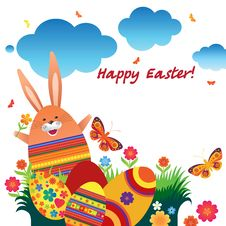 Free Easter_Bunny Stock Photography - 19229002