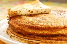 Free Pancakes Royalty Free Stock Image - 19229306