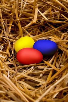 Free Easter Eggs Stock Images - 19229514