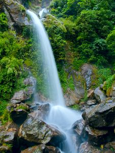 Free Waterfall The Seven Sisters Royalty Free Stock Image - 19229856