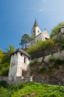 Free Tower Medieval Castle Hohostervits, Austria Royalty Free Stock Photo - 19229925