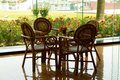 Free Table And  Chairs Royalty Free Stock Photos - 19231528