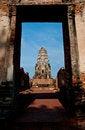 Free Chaiwatthanaram Temple Royalty Free Stock Photography - 19239197