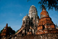 Free Chaiwatthanaram Temple Royalty Free Stock Image - 19239276