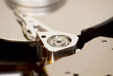 Free Close Up Of Open Hard Disk Stock Photos - 19230473