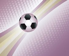 Free Soccer Ball Background. Royalty Free Stock Image - 19230756