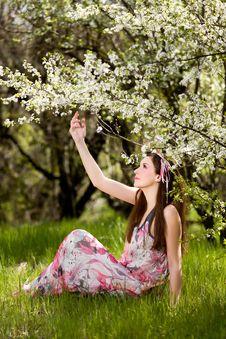 Free Spring Portrait Stock Photo - 19230760