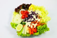 Free Dinner Salad Stock Image - 19230761