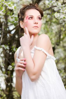 Free Spring Portrait Royalty Free Stock Photography - 19230847