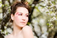 Free Spring Portrait Royalty Free Stock Photography - 19230887