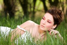 Free Spring Portrait Royalty Free Stock Photography - 19231087