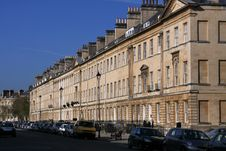 Free Large Block Of Old Buildings In Bath, England. Royalty Free Stock Images - 19231439