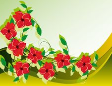 Free Abstract Background With Flower Stock Photos - 19231803