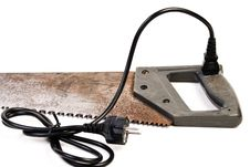 Electricaly Powered Handsaw