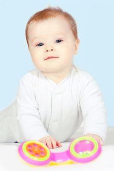 Free Beautiful Baby Is Playing Stock Photo - 19232150