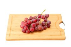 Free Bunch Of Grapes On The Kitchen Blackboard Royalty Free Stock Photos - 19233398