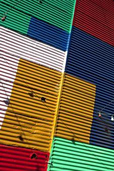 Barrio De Caminito, Buenos Aires. Royalty Free Stock Image