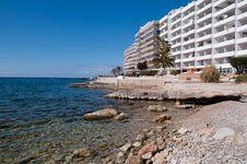 Free Hotel Scenery Of Santa Ponsa, Majorca, Spain Stock Photo - 19234700