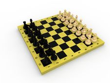 Free Chess Concept Royalty Free Stock Images - 19234839